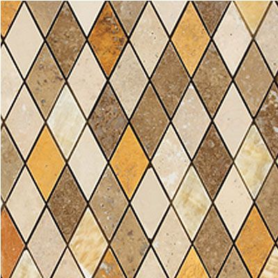 Stone Decorative Tiles Magnificent Daltile Stone Decorative Mosaics Tevere Harlequin Blend Mosiac Review