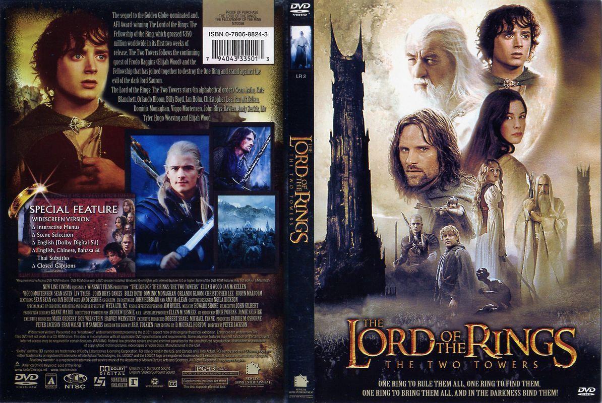 The Lord Of The Rings The Two Towers Lord Of The Rings The Two
