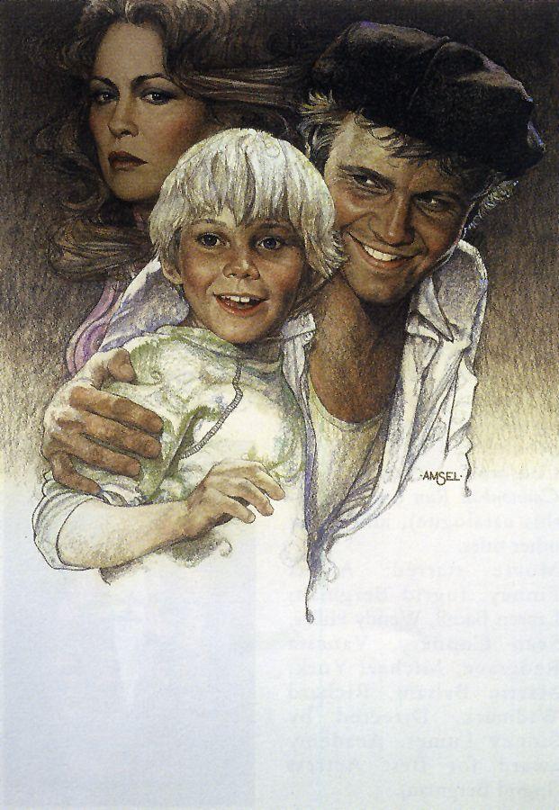 "Richard Amsel's original art for ""The Champ"" (1979) movie poster"