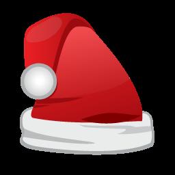 Christmas Santa Cap Icon Santa Cap Christmas Icons Santa