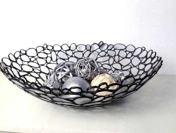 Contemporary Decorative Glass Bowl, Decorative Glass Bowls
