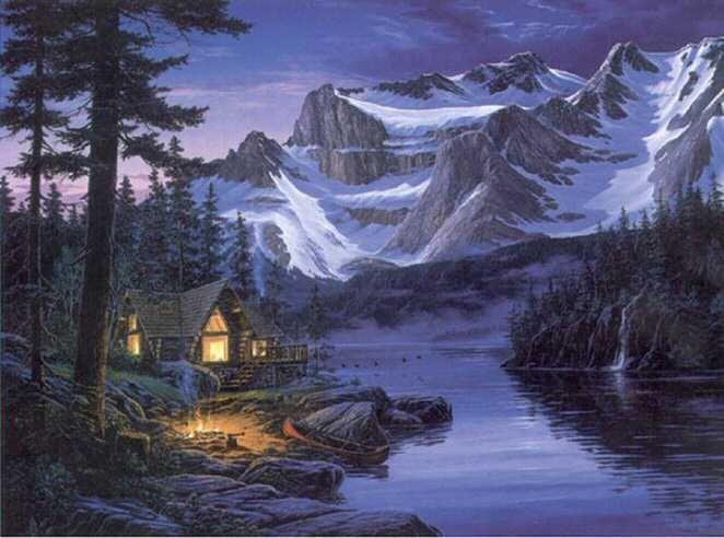 Fantasimagenss Hermosas Imagenes De Paisajes Con Movimiento Landscape Art Art Landscape