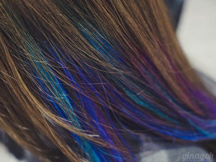 Salon vim new hair color arimino privy treatment yina goes salon vim new hair color arimino privy treatment yina goes brown hair purple highlightsblue pmusecretfo Gallery