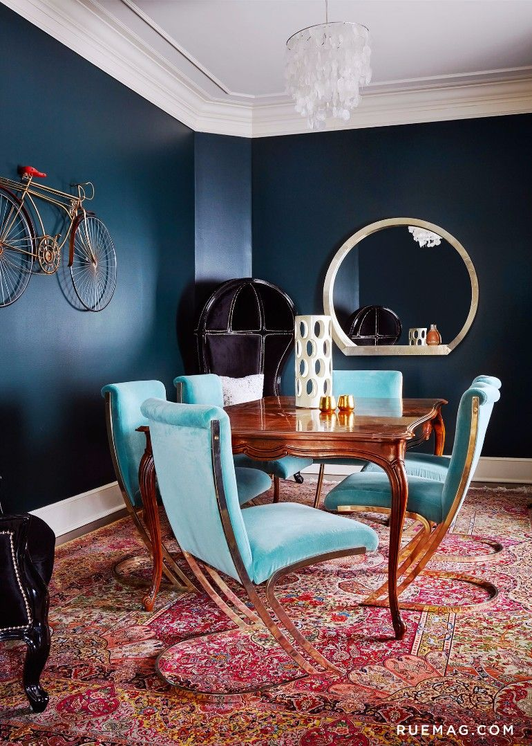 7 Stylish Blue Dining Room Chairs That You
