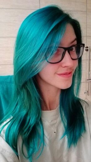 Manic Panic Voodoo Blue Great Ombre From A Purple Maybe The Ends