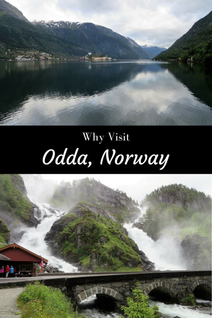 Viewpoint of a town named Odda in Norway 🇳🇴 #odda #norway