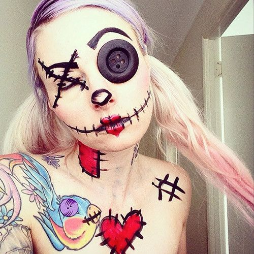 31 Days of Halloween Make Up With Sarah Mudle - Inked Magazine ...