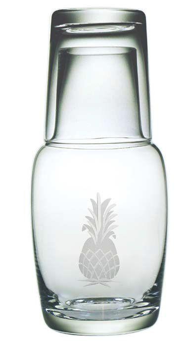 Pineapple Bottle Carafe Set