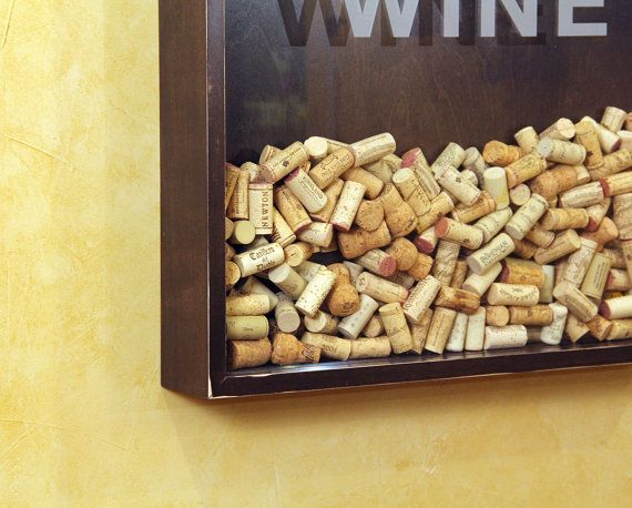 25x45 Wine Cork Holder Wall Decor Art - Keep Calm & Drink Wine | My ...