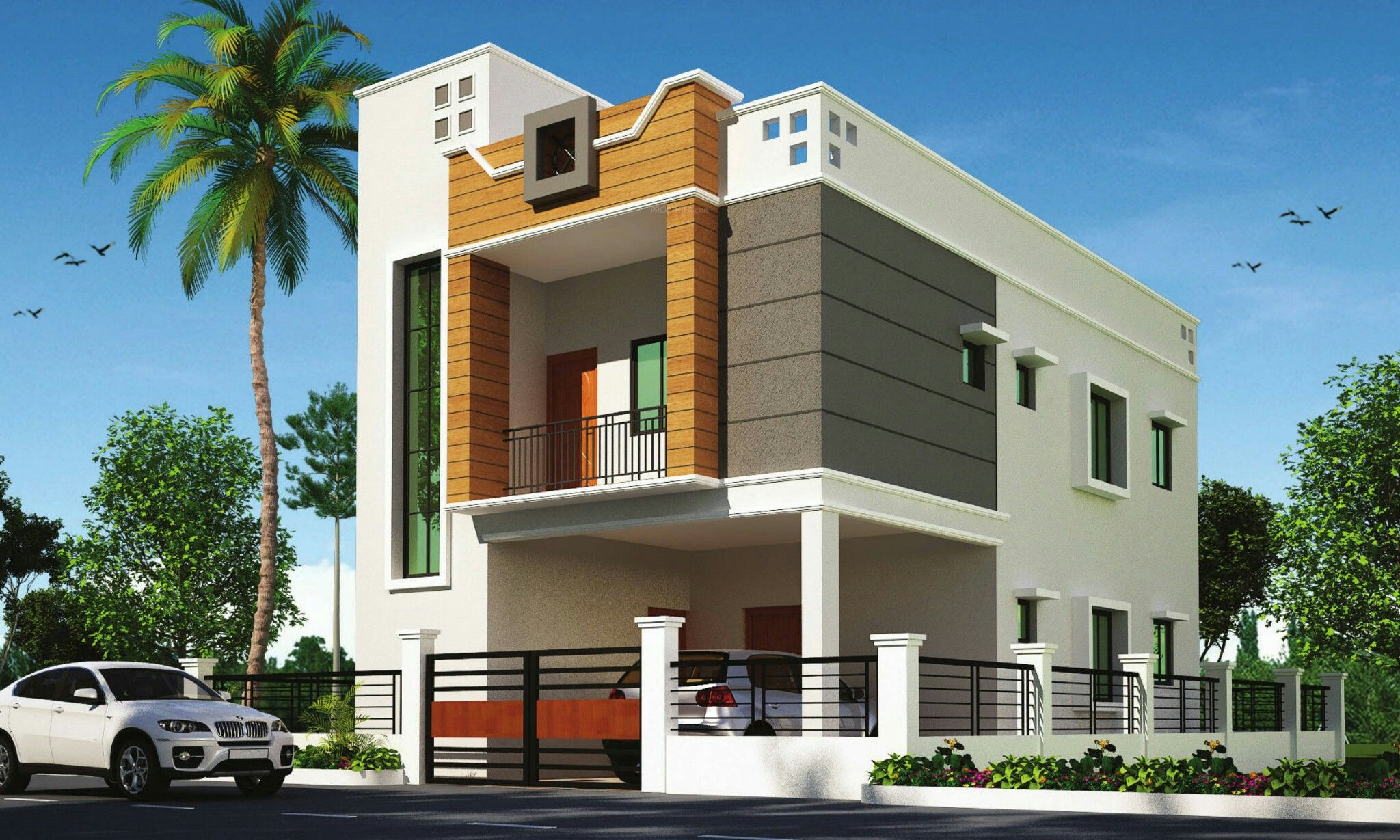 Residential And Commercial Property In Nagpur Best Property In Nagpur Designed By Adiva Best Small House Designs Architect Design House Village House Design