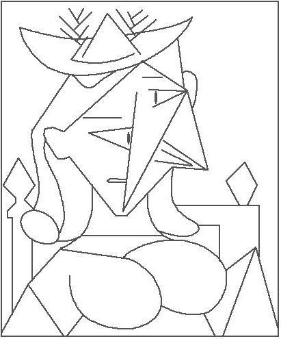 Picasso  ARTE  PABLO PICASSO  Pinterest  Colorear Pintor y