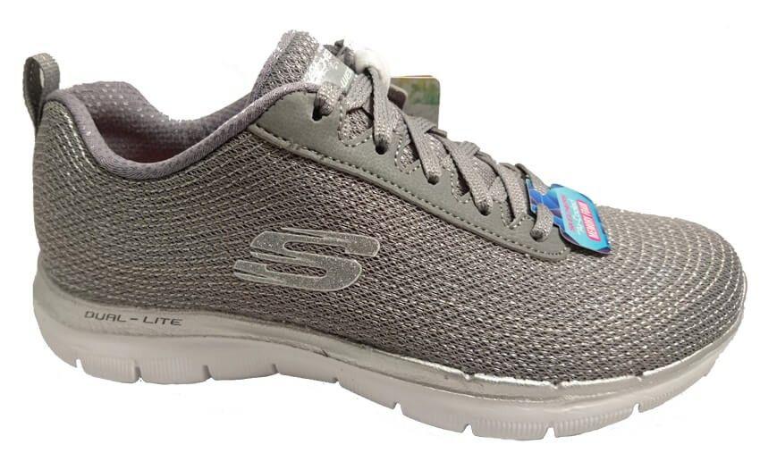 Memory foam sneaker shoes for women, by Skechers by Skechers