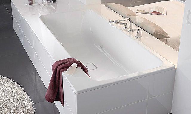 Les 25 meilleures id es de la cat gorie baignoire for Disposition salle de bain