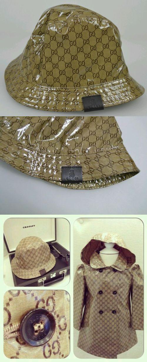b522c857 Hats 57884: Nwt New Gucci Kids Boys Girls Gg Crystal Fedora Bucket Hat M  258057 -> BUY IT NOW ONLY: $99 on eBay!