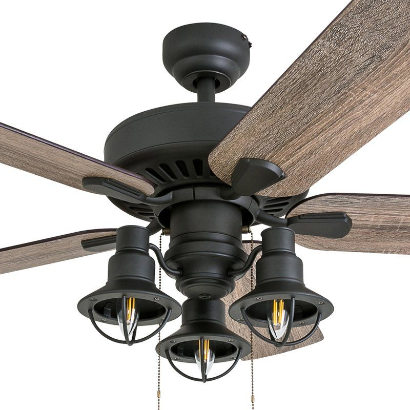 52 Ravello 5 Blade Ceiling Fan Light Kit Included With Images