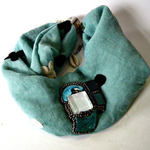 Foulard - Bijou -turquoise