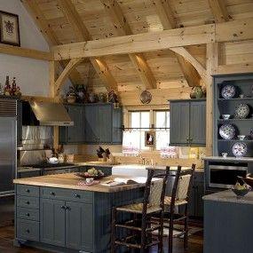 Timber Frame Designed Kitchens