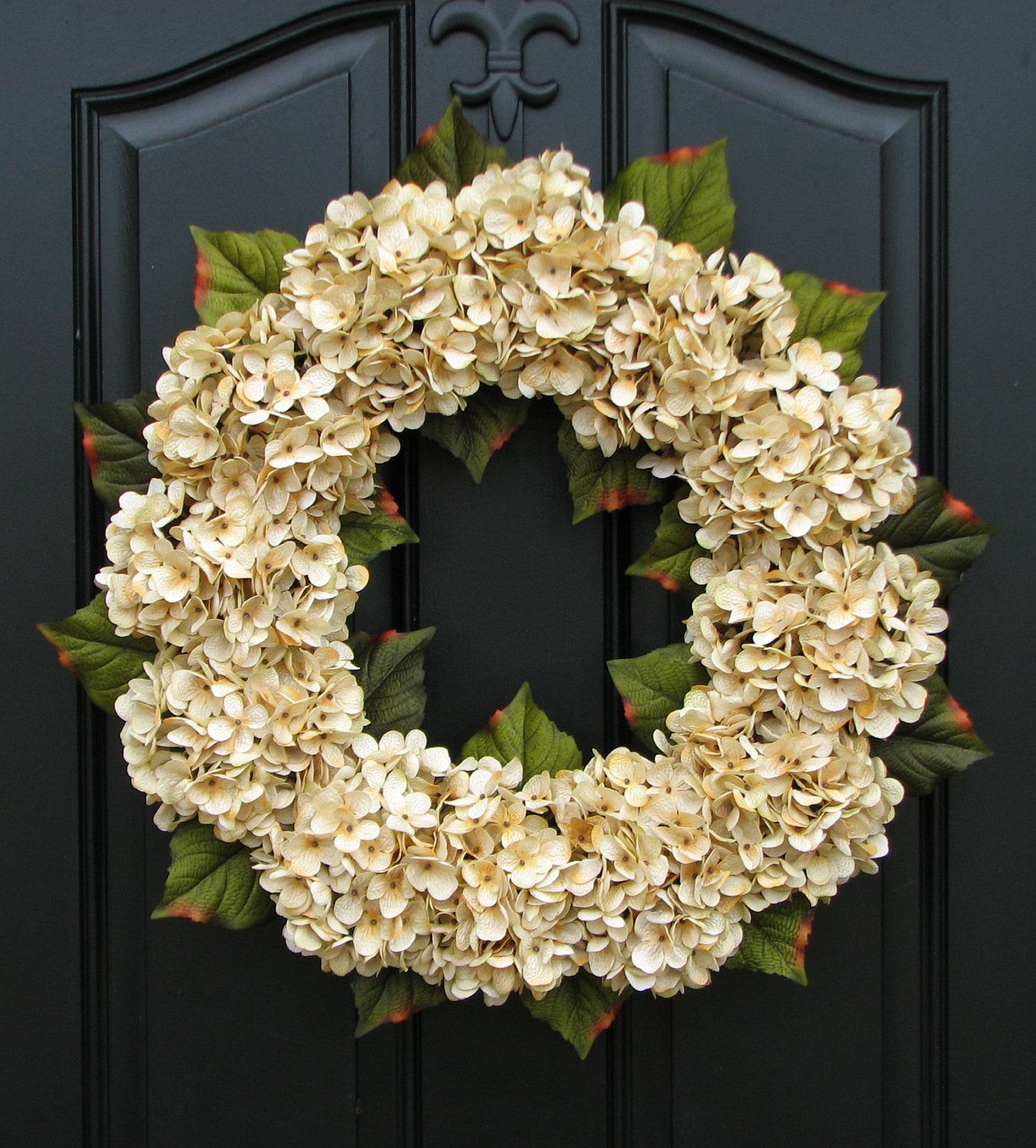 Modern wreaths for front door - Modern Wreaths For Front Door Wedding Decor Wedding Wreaths Champagne Front Door