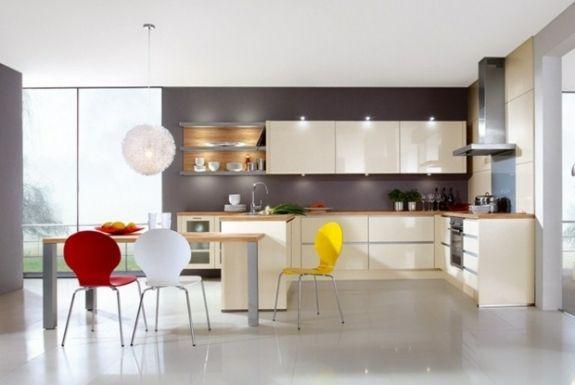 Peinture Cuisine Idées De Choix De Couleurs Modernes - Meuble de cuisine nobilia pour idees de deco de cuisine
