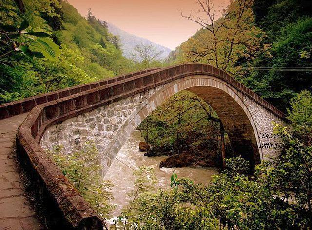 Ottoman Bridge, Ayder, Turkey