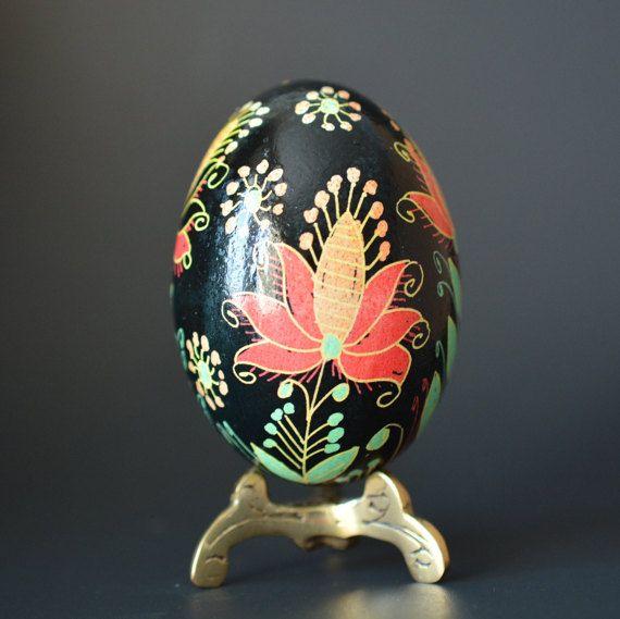 Fantasy floral design batik egg gift for wifes birthday pysanky fantasy floral design batik egg gift for wifes birthday negle Choice Image