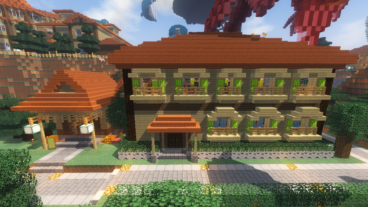 Small Village House マインクラフトの家