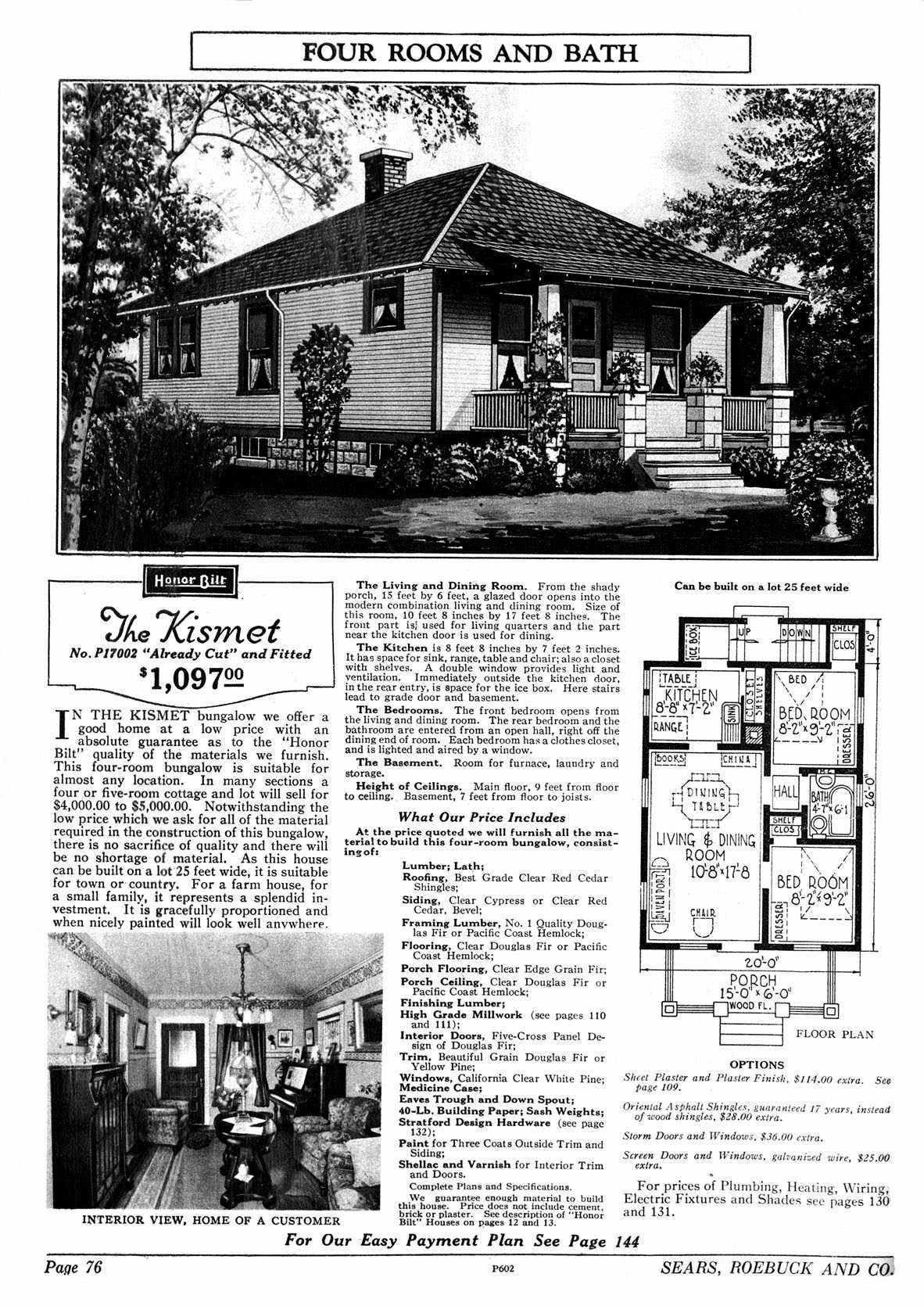 1928 P17002 Jpg 1182 1670 Vintage House Plans Bungalow Floor Plans Porch Styles