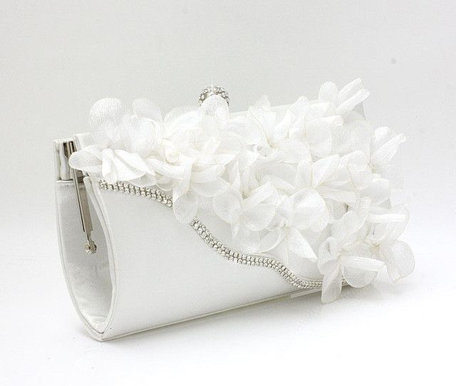 New Color Crystal Evening Day Clutches Flower Wedding Bags Evening