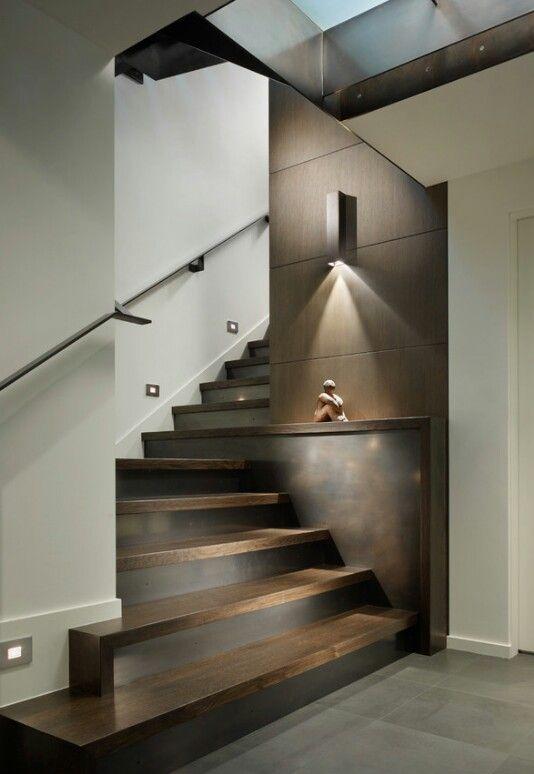 Iluminación de escalera