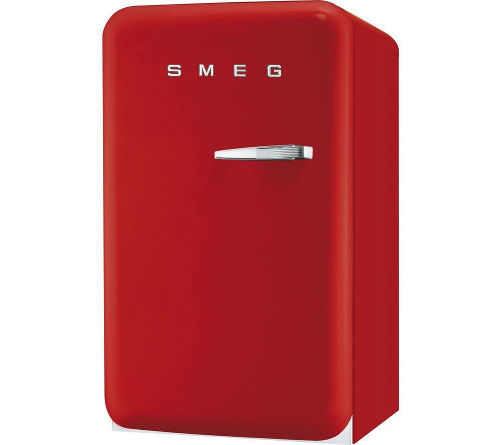 Buy Smeg Fab10hlr Mini Fridge Red Free Delivery Currys In 2020 Smeg Mini Fridge Retail Websites