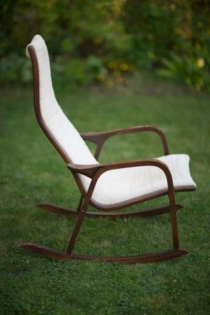Fine Mid Century Rocking Chair Things Chair Midcentury Squirreltailoven Fun Painted Chair Ideas Images Squirreltailovenorg
