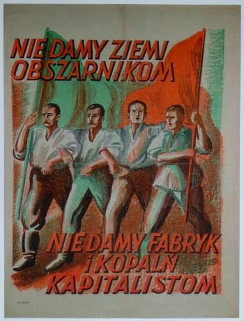 Plakat Prl U Wspomnienia Dawnej Polski Plakat Rysunki I