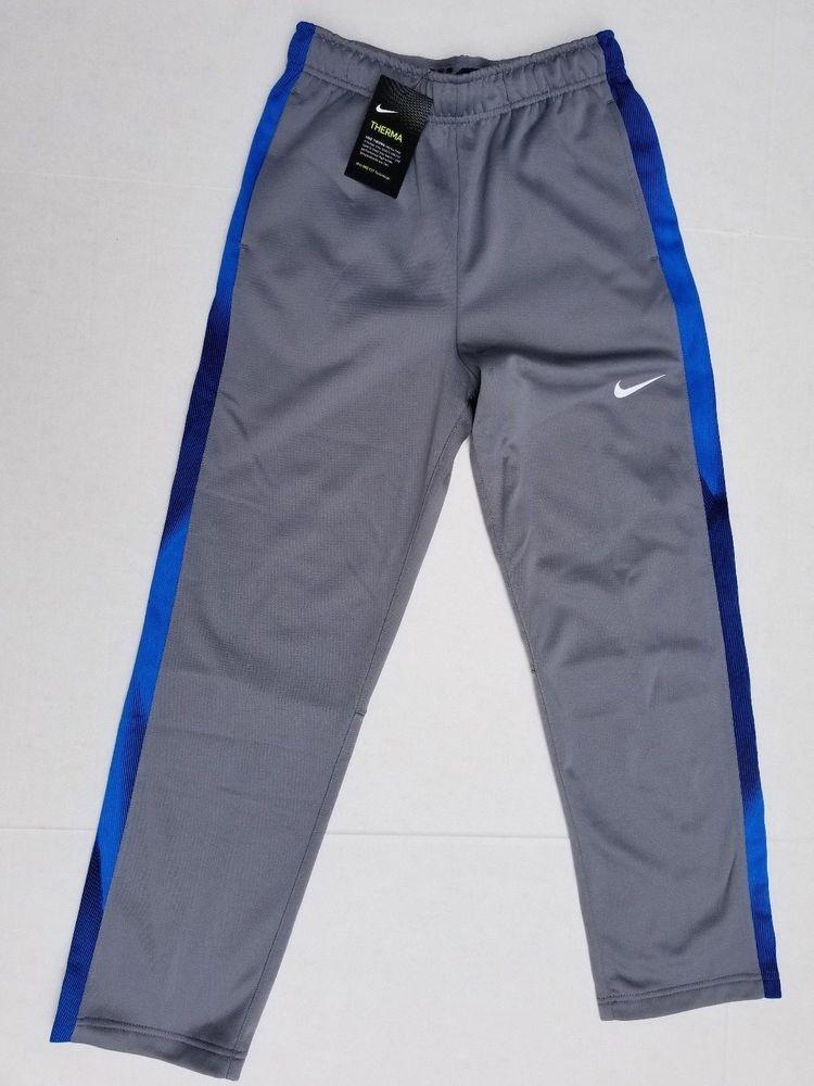 Boys nike therma drifit technology athletic pants large