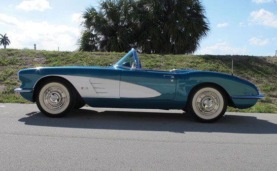 1958 Chevrolet Corvette Roadster Auburn Spring Chevrolet Corvette Cool Old Cars Corvette