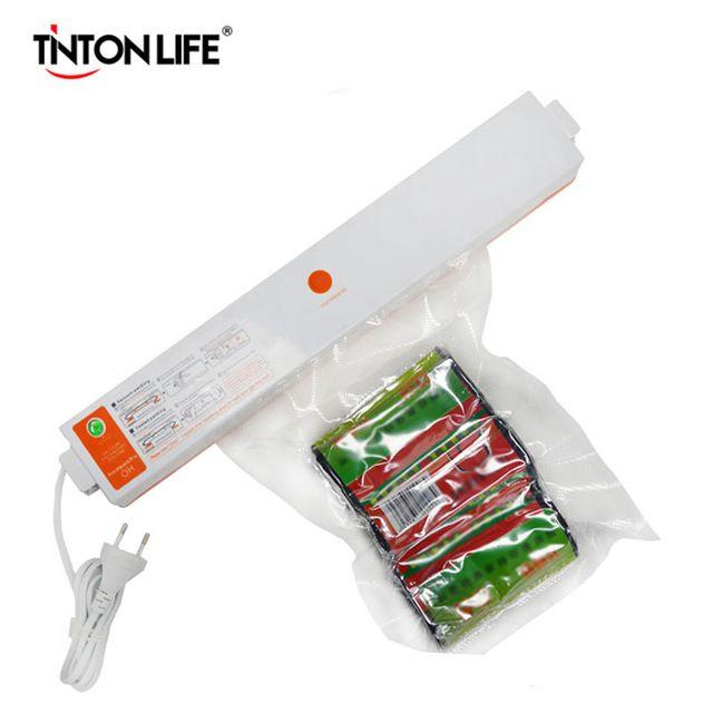 Household Food Vacuum Sealer Packaging Machine Film Sealer Vacuum Packer