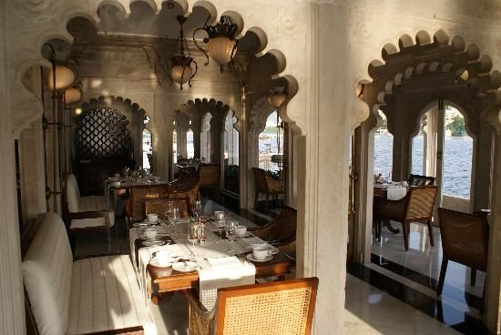 Taj Lake Palace Udaipur Salle Du Petit Déjeuner  Travel India Awesome Lake Hotel Dining Room Decorating Design