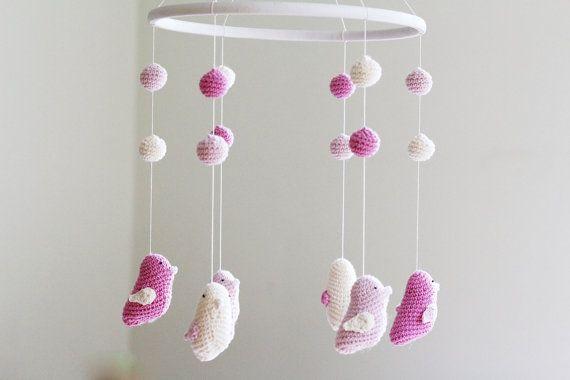 p pini re oiseau mobile mobile b b couleurs pastel b b berceau mobile projets pour iouri. Black Bedroom Furniture Sets. Home Design Ideas