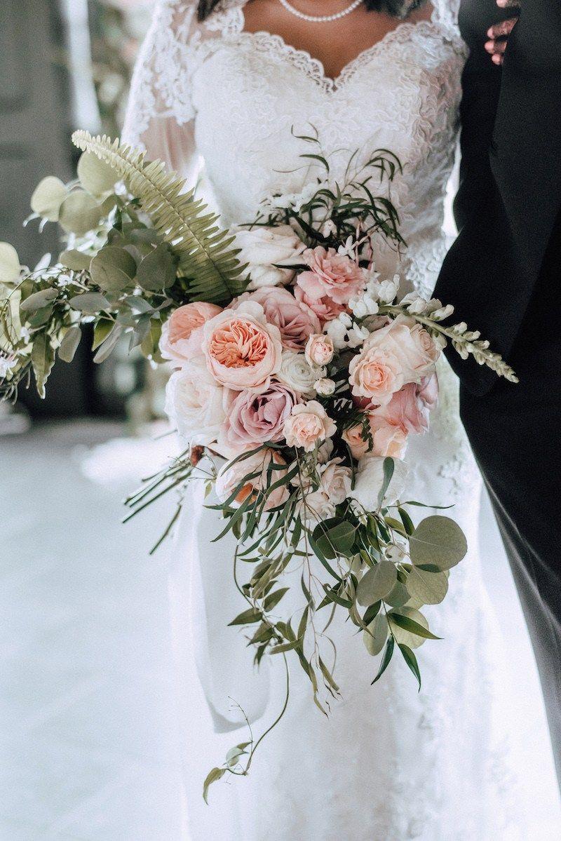 Pink waterfall bridal bouquet gira aaron indian wedding blog pink waterfall bridal bouquet gira aaron indian wedding blog think shaadi izmirmasajfo