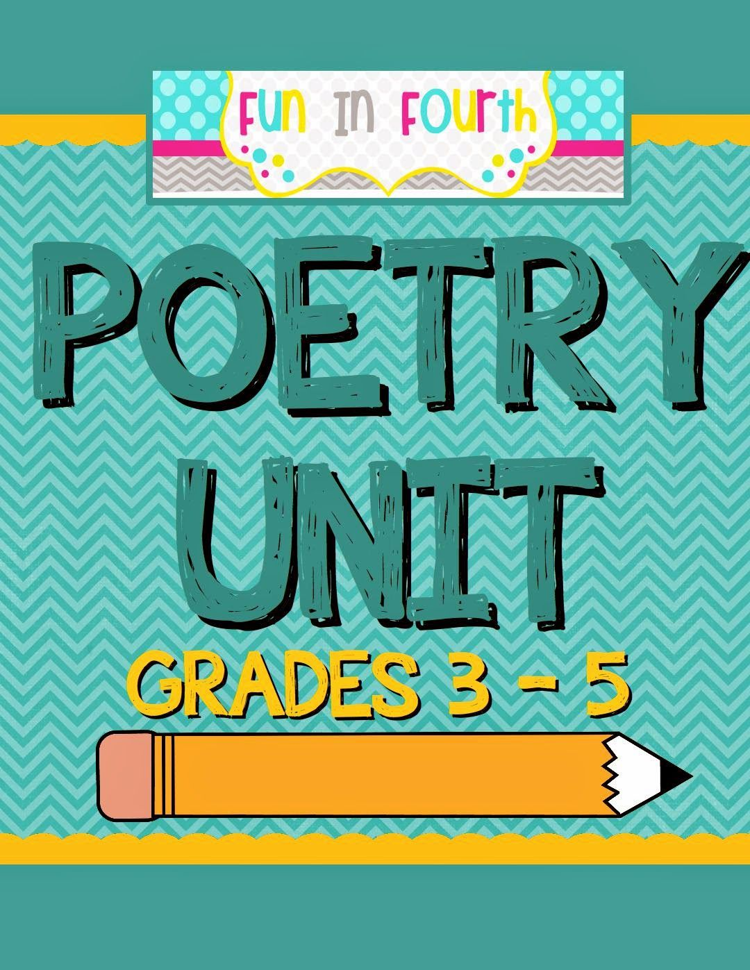An Entire Poetry Unit With Posters For 7 Types Of Poetry