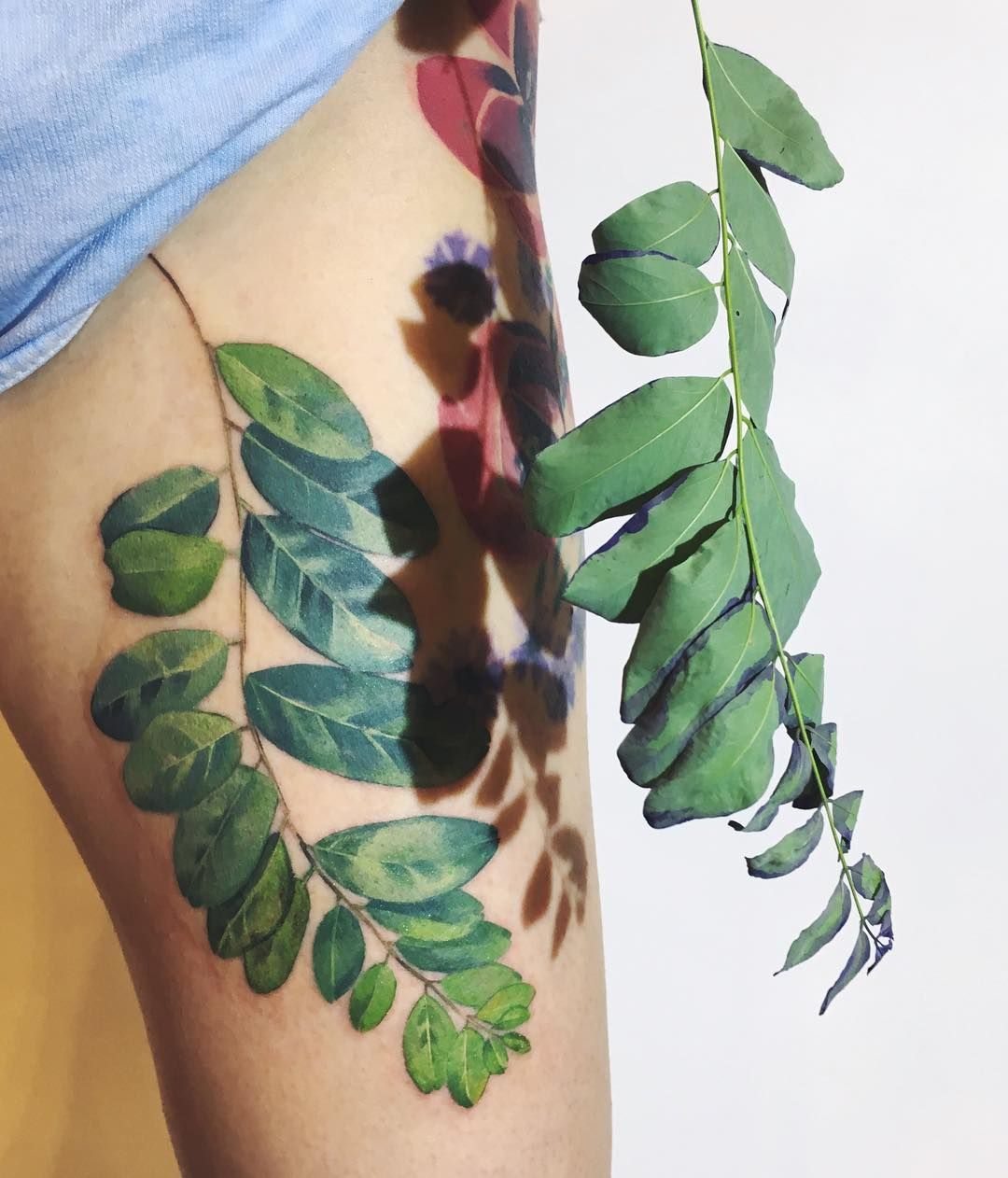 12 Floral Tattoos That Will Comfort You When All Of Your Plants Die This Winter Tattoo Artists Floral Tattoo Botanical Tattoo