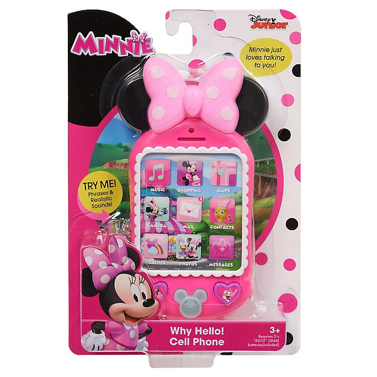 Disney S Minnie Mouse Minnie S Happy Helpers Why Hello Cell Phone By Just Play Kohls In 2021 Minnie Mouse Toys Minnie Minnie Mouse