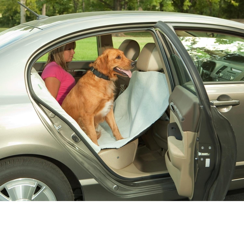Bergan Gray Deluxe Hammock Car Seat Protector Car seat