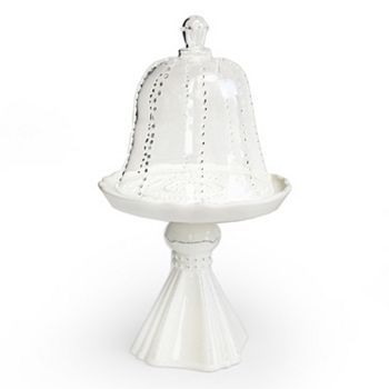 Fifth Avenue Crystal Gabrielle Domed Cupcake Plate