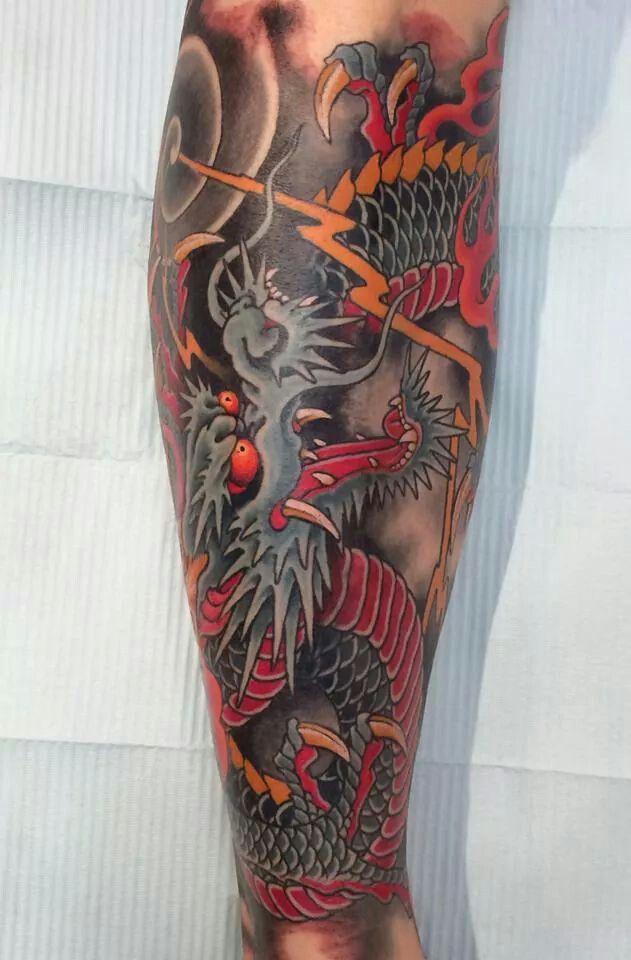 Dragon Sombras Pinterest Tattoos Forearm Tattoos Y Japanese