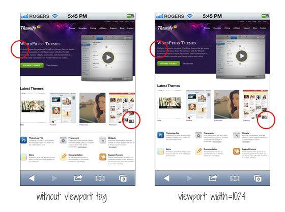 Viewport Meta Tag For Non Responsive Design Responsive Design Web Design Design