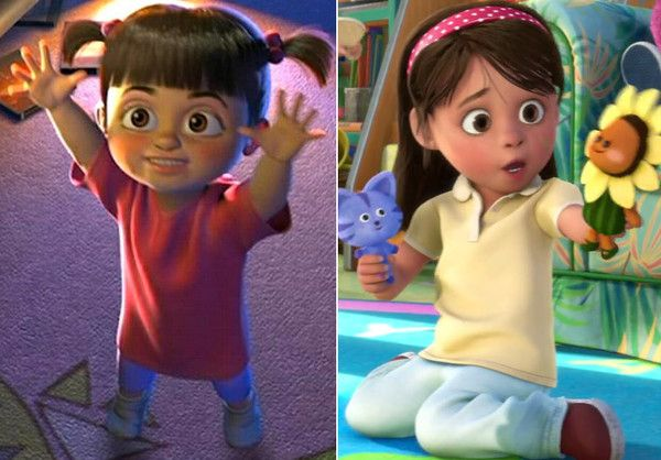 Is Boo Growing Up? | Memories Growing Up And Toy Story
