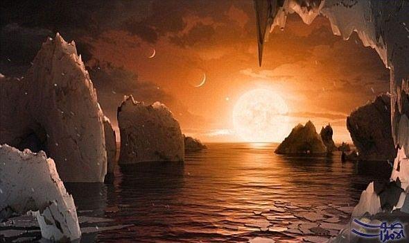 اختفاء الأمل في ايجاد حياة غريبة في نظام شمسي مشابه لنظامنا تحط مت الآمال في العثور على حياة على الكواكب في ن Planets Spitzer Space Telescope Planetary System