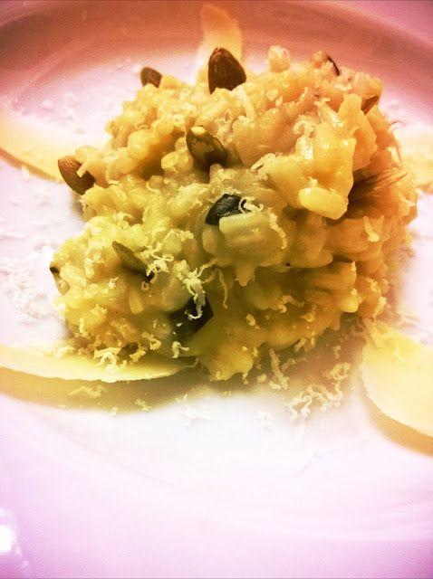 In Cucina con Mamma Agnese: Risotto alle Zucchine su scaglie di Gran Natura e semi di zucca