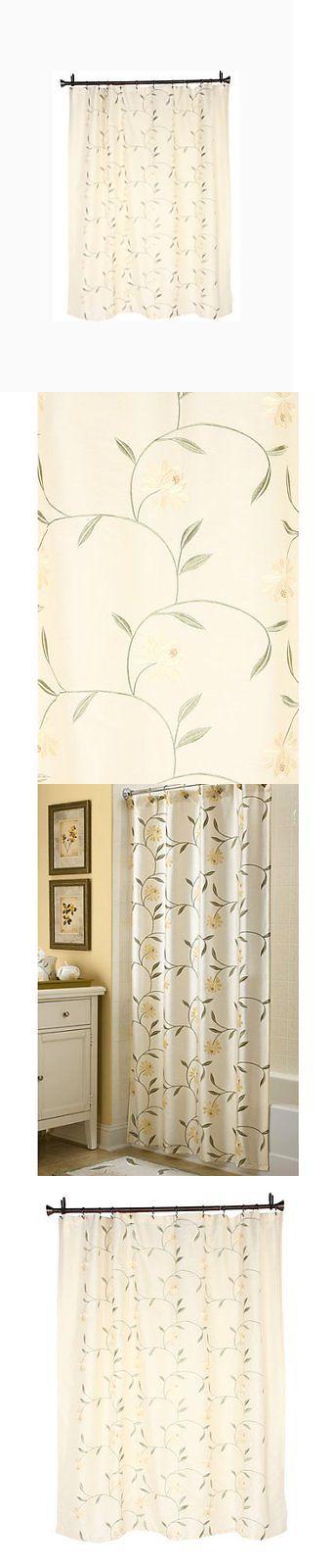 Shower Curtain Hooks 32874: Croscill Penelope Shower Curtain, New ...