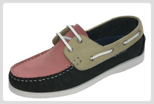 Seafarer , Damen Bootsschuhe Mehrfarbig Navy/Beige
